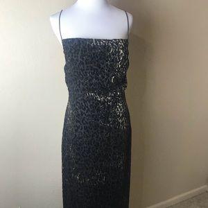 Tahari Leopard Print Dress